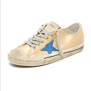 Golden Goose vstar gold/blue